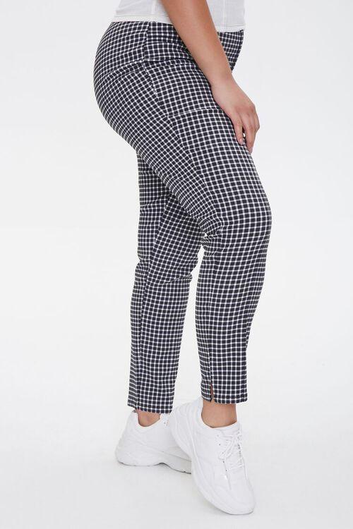 Plus Size Gingham Skinny Pants, image 3