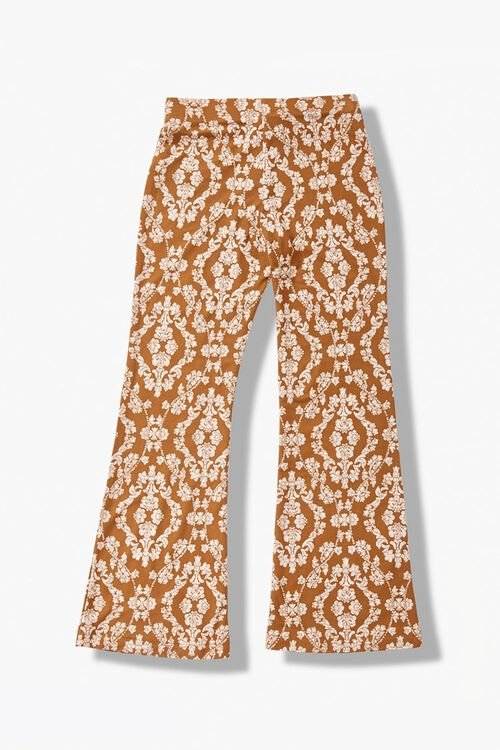 Girls Floral Flare Pants (Kids), image 2