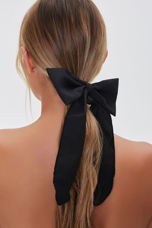 Long-Tail Bow Scrunchie, image 1