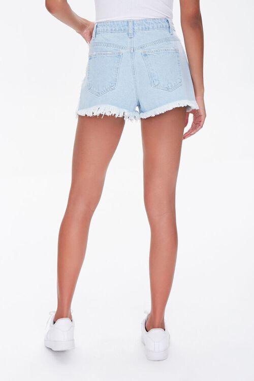 Frayed Denim Shorts, image 4