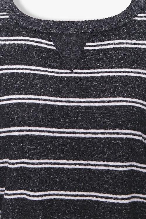 Striped V-Notch Lounge Top, image 4