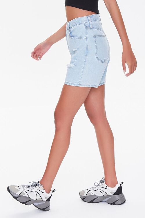 Crisscross Denim Shorts, image 3