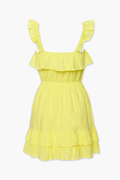 Ruffle-Trim Mini Dress, image 3