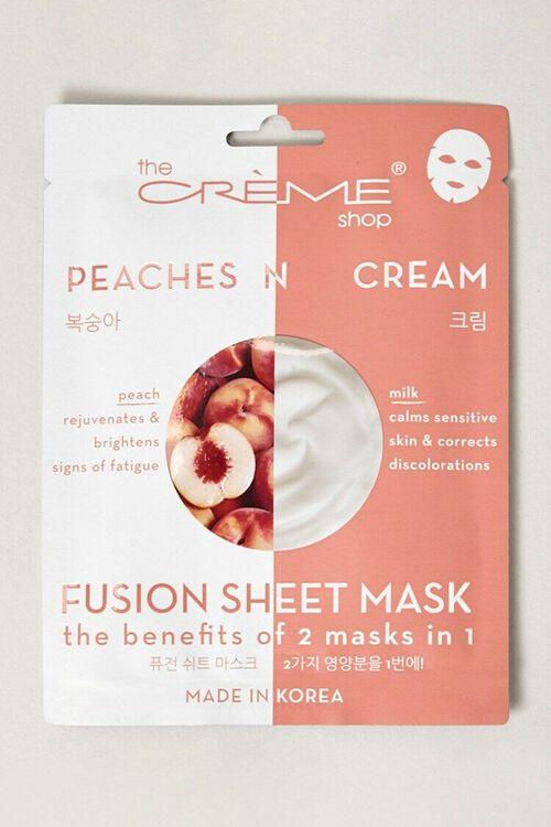 Peaches N Cream Fusion Sheet Mask, image 1