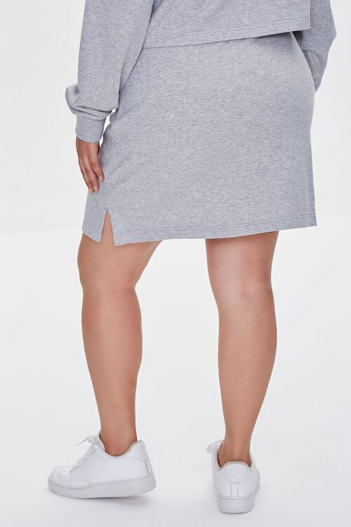 Plus Size Bodycon Mini Skirt, image 4