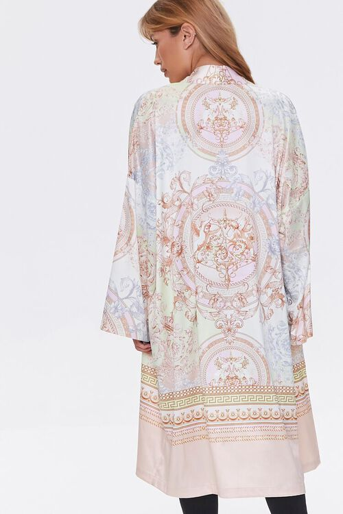 Ornate Baroque Print Duster Kimono, image 4