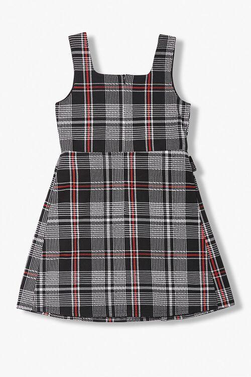 Girls Plaid Belted Dress (Kids), image 2