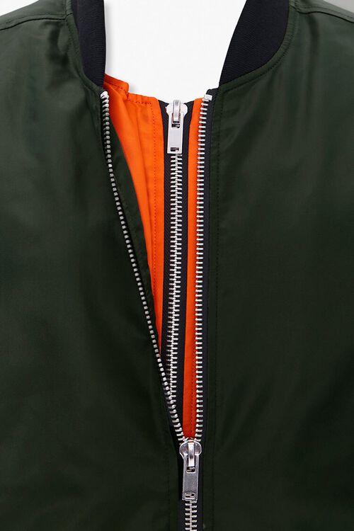 Dual-Zippered Bomber Jacket, image 4
