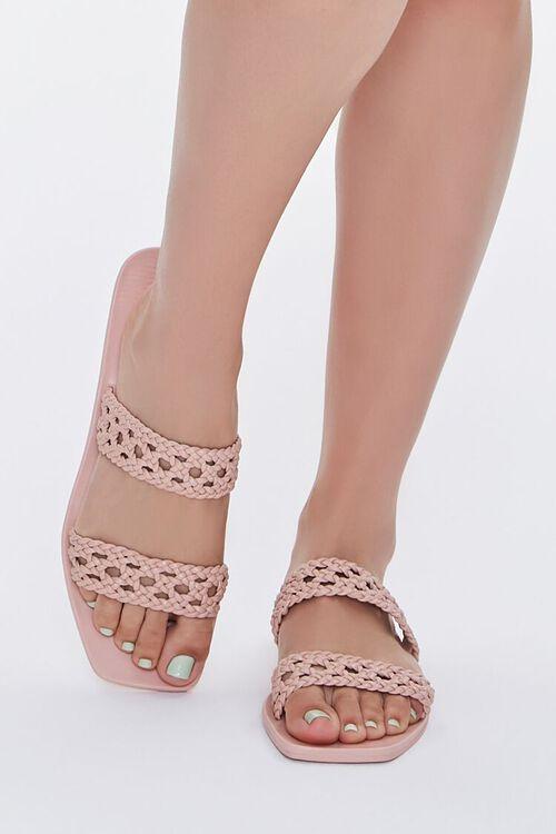 Basketwoven Slip-On Sandals, image 4