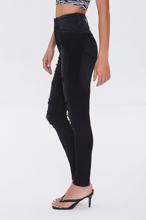 Premium Distressed Curvy Jeans, image 3