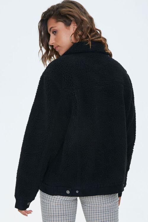 Denim & Faux Shearling Jacket, image 3