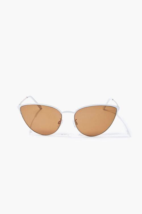 Cat-Eye Metal Sunglasses, image 1