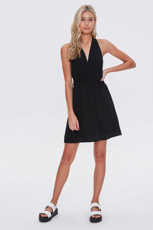 Surplice Mini Dress, image 5