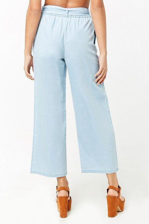 Wide-Leg Denim Pants, image 4