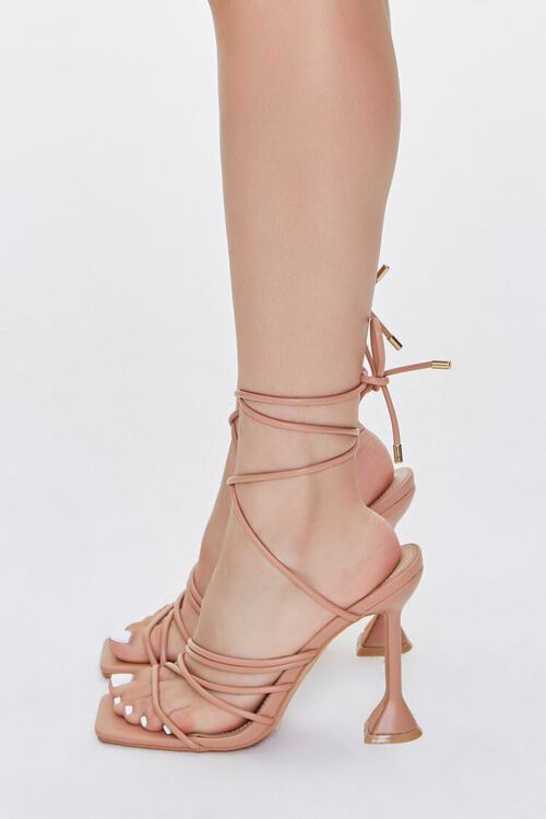 Wraparound Square-Toe Heels, image 2