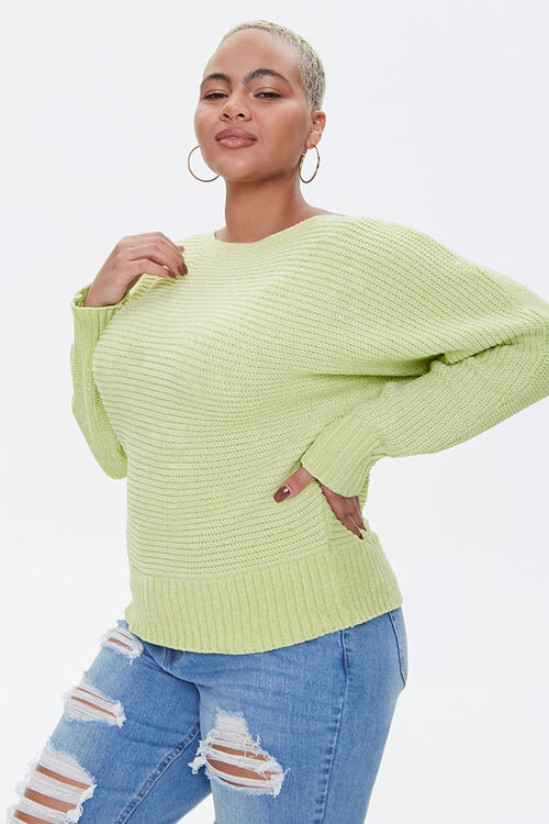 Plus Size Chenille Sweater, image 1