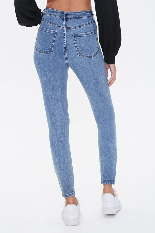 Distressed High-Rise Skinny Jeans, image 4