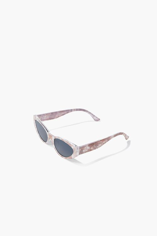 Marbled Oval Sunglasses, image 5