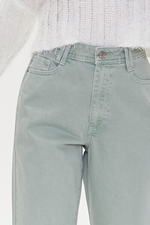 High-Rise Straight Jeans, image 5