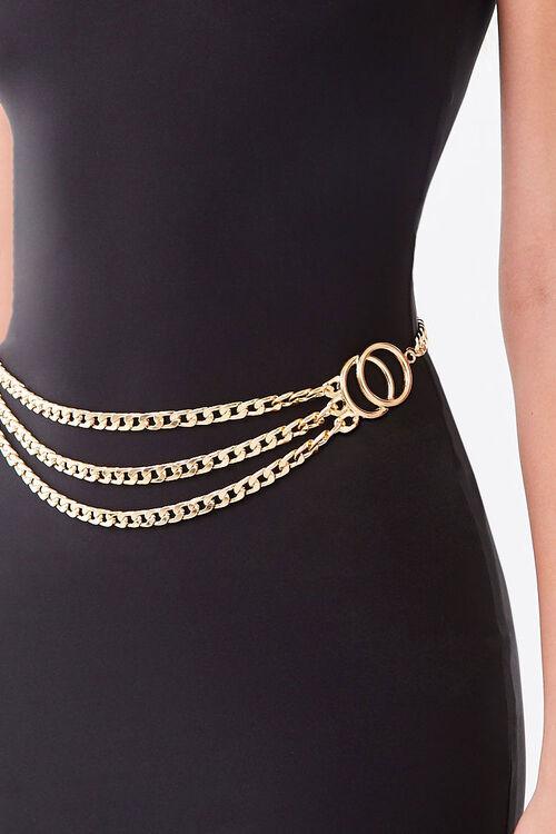 O-Ring Curb Chain Waist Belt, image 1