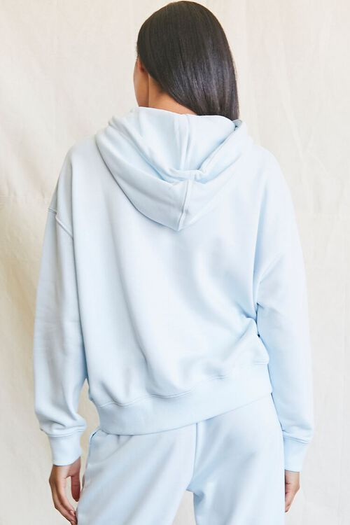 French Terry Drawstring Hoodie, image 3