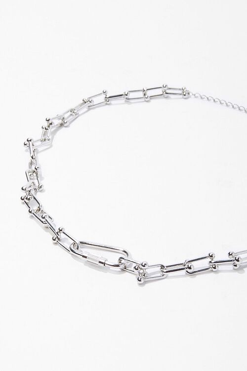 Toggle Chain Choker Necklace, image 2