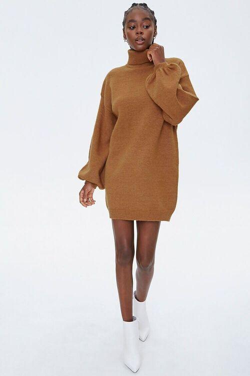 Turtleneck Sweater Dress, image 4