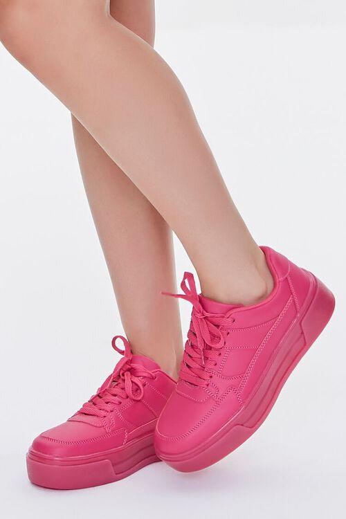 Low-Top Platform Sneakers, image 5