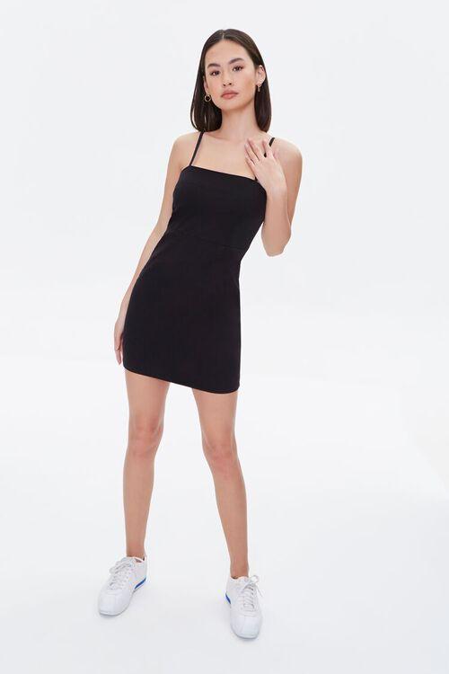 Twill Bodycon Mini Dress, image 4