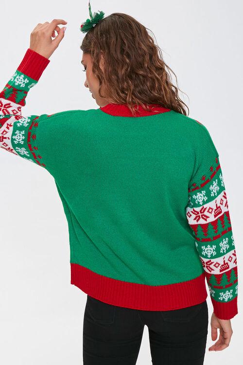 Happy Birthday Jesus Graphic Sweater, image 3