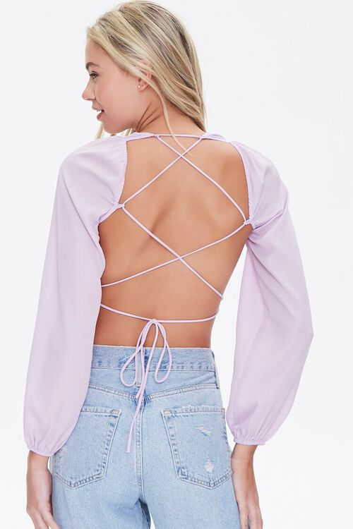 Lace-Back Crop Top, image 4