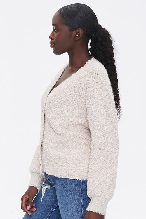 Boucle Button-Front Cardigan, image 2