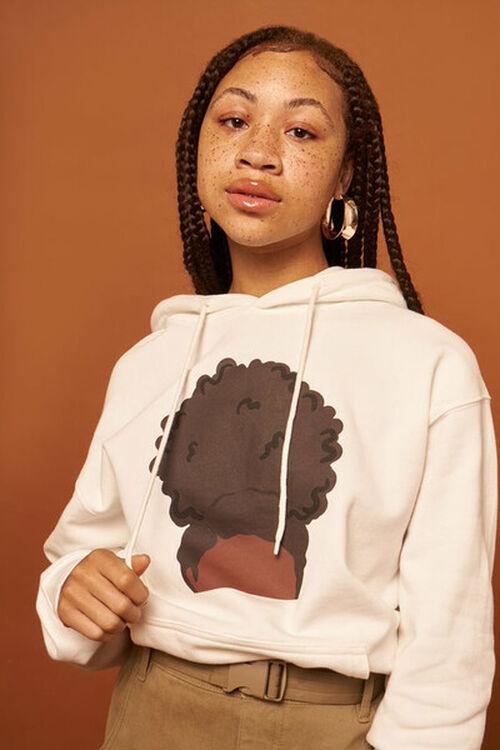 CREAM/MULTI Stormy Nesbit Black Women Matter Graphic Hoodie, image 1