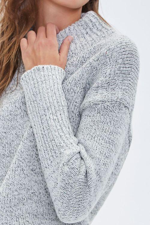 Marled Mock Neck Sweater, image 5