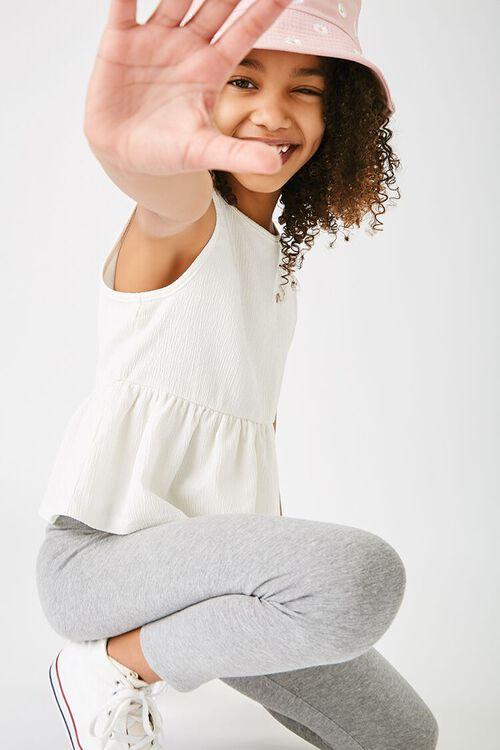 Girls Crinkled Flounce Top (Kids), image 1