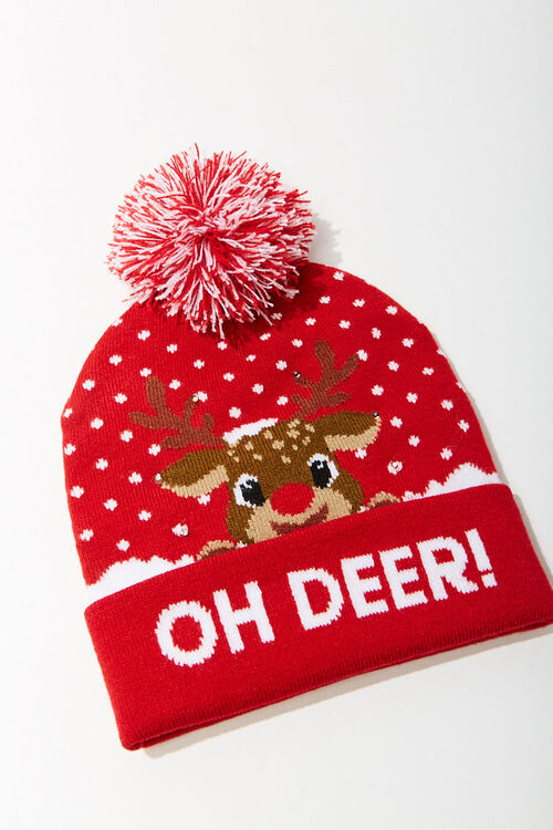 Oh Deer! Graphic Beanie, image 1