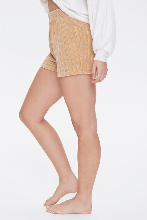 Chenille Pajama Shorts, image 3