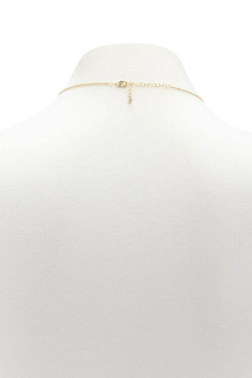 Rhinestone Charm Necklace, image 2