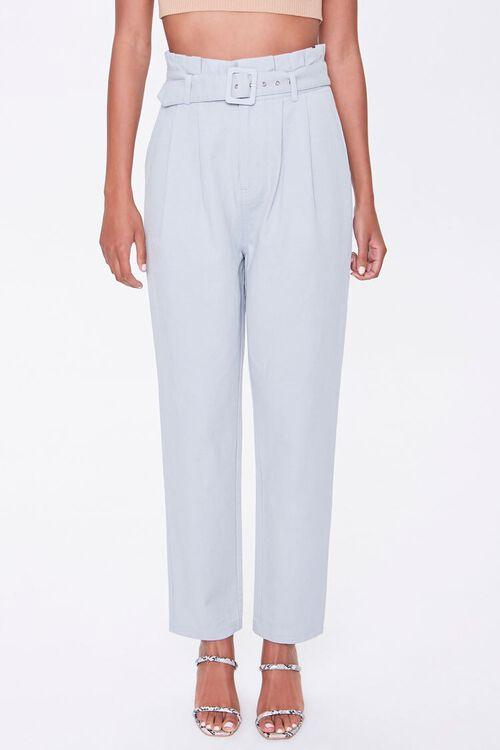 Paperbag Belted Pants, image 2