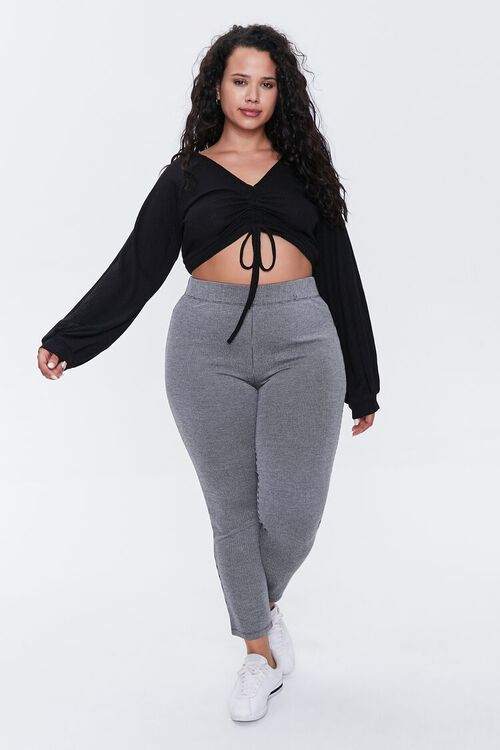 Plus Size Ribbed Crop Top, image 4