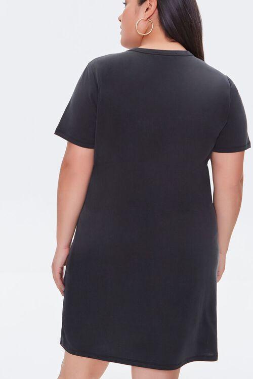 Plus Size Cutout T-Shirt Dress, image 3