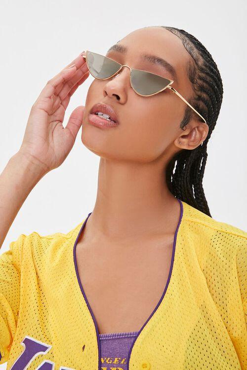 Metal Triangle Sunglasses, image 1