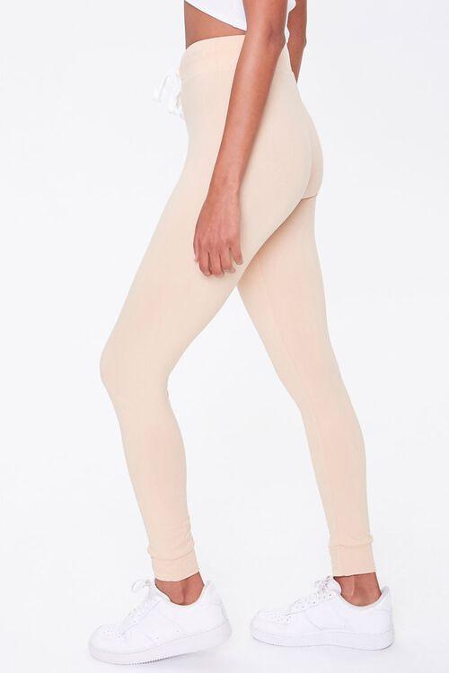 Drawstring High-Rise Leggings, image 3