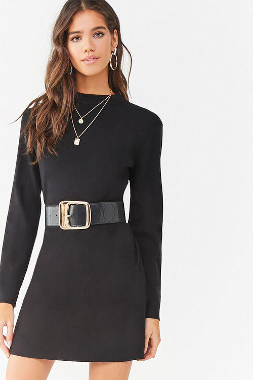 Mini Sweater Dress, image 1