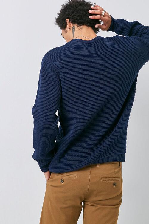 Ribbed Long Sleeve Sweater, image 3