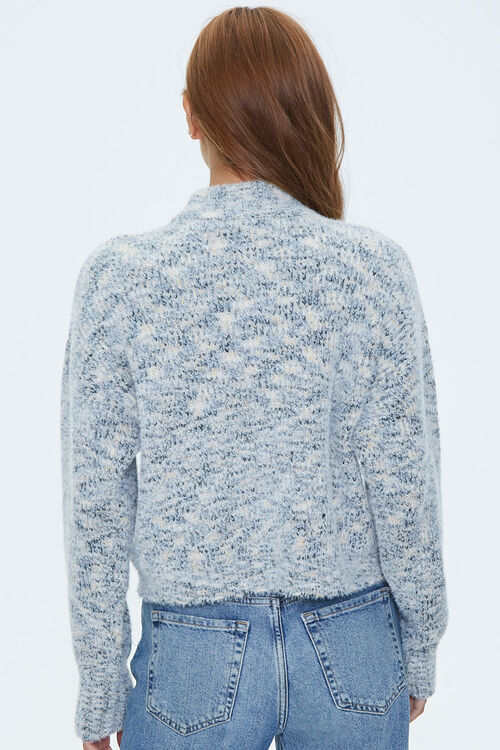Marled Mock Neck Sweater, image 3