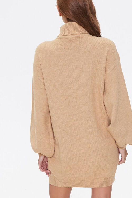 Turtleneck Sweater Dress, image 3