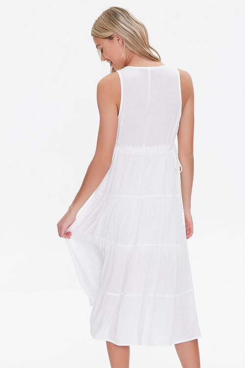 Plunging Midi Dress, image 3