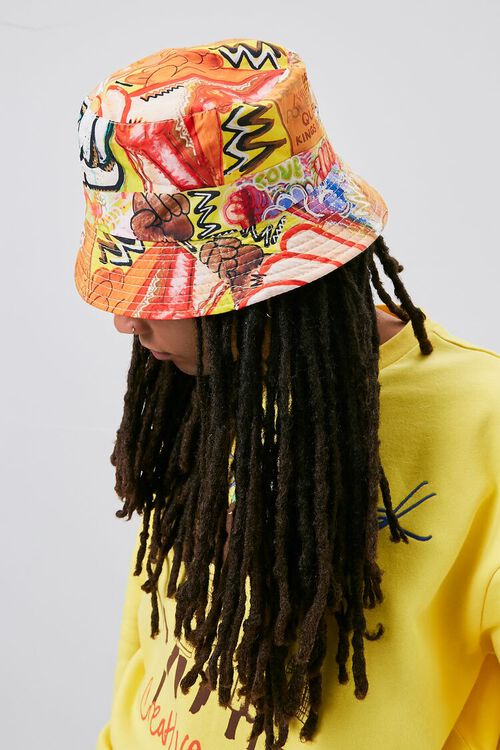 Ashley Walker Art Print Bucket Hat, image 3