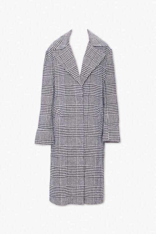 Glen Plaid Longline Coat, image 1